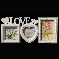 Фоторамка Love Сердце (3 фото)