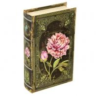 Сейф-книга Пионы (21 см)