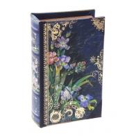 Шкатулка-книга Ирисы (17 см)
