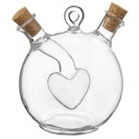 Бутыль для соусов и масла Фьюжн Сердце