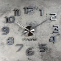 Настенные часы-наклейка Акстелл (70 см)