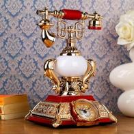 Часы-будильник Ретро-телефон (+светильник)