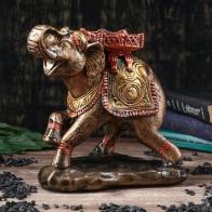 Копилка Слон (бронзовый)