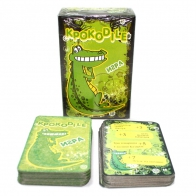 Игральные карты Крокодил