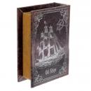 Шкатулка-книга Странствующий корабль (16 см)