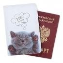 Обложка для паспорта Мяу! Паспорт