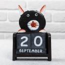 Вечный календарь Кошечка