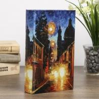 Сейф-книга Улицы ночного города (21 см)