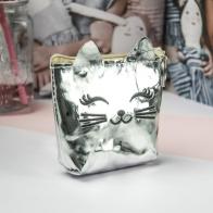 Кошелек-мини Кошечка (зеркальный)