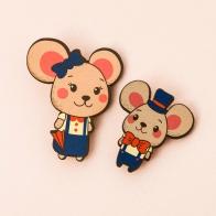 Значки Мышки (2 шт)