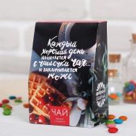 Чай черный с ягодами Каждый хороший день начинается чашечкой чая (100 гр)