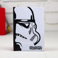 Обложка для паспорта Звездные войны (белая)