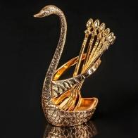 Набор ложек Золотой лебедь