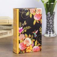 Сейф-книга Розы на чёрном (17 см)