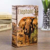 Сейф-книга Слон в Африке (17 см)