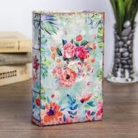 Сейф-книга Цветы, нарисованные акварелью