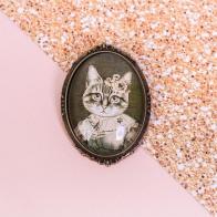 Значок Кошка