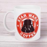 Кружка с принтом Star wars coffee (350 мл)