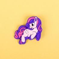 Значок на рюкзак Пони