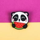 Значок на рюкзак Панда