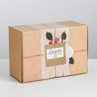 Коробка-пенал Happy day (22×15×10 см)