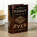 Шкатулка-книга Сегодня самый лучший день (16 см)
