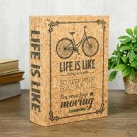 Шкатулка-книга Велосипед (23 см)