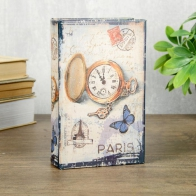 Сейф-книга Карманные часы, Париж (17 см)