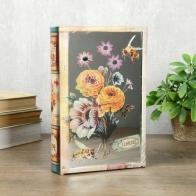 Сейф-книга Букет цветов (24 см)