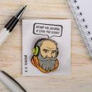 Значок Толстой