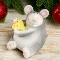 Копилка Мышонок Носуля с кусочком сыра
