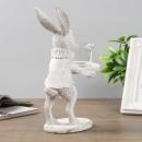 Подсвечник Кролик (дерево)