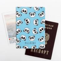 Обложка для паспорта Панды