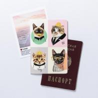 Обложка для паспорта Замурчательные котики