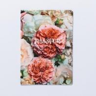 Обложка для паспорта Нежные цветы