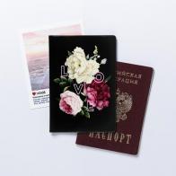 Обложка для паспорта Love and flowers