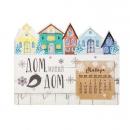 Ключница с календарем Милый дом