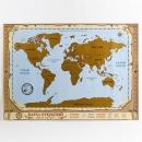 Карта со скретч-слоем Карта открытий (70х50 см)