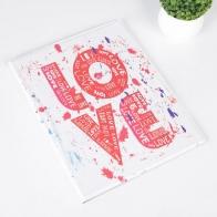 Обложка для семейных документов Love