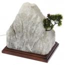 Соляной светильник Гора с бонсаем (6-7 кг)