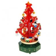 Новогодний сувенир Ёлка с игрушками (музыкальная)