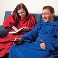 Плед с рукавами Cuddle Blanket+