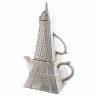 Чайник с кружкой Эйфелева башня
