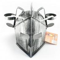 Шлем с подставкой под банки Рыцарь