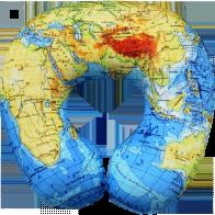 Подголовник Карта мира