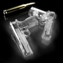 Форма для льда Пистолет