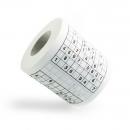 Туалетная бумага Судоку
