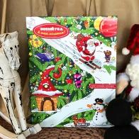 Адвент-календарь с шоколадом Новый год к нам мчится
