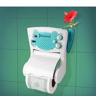 Держатель туалетной бумаги (с радио)