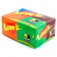 Блок жвачек Love is (80 шт)